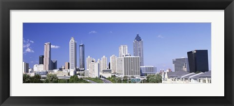 Framed Downtown Atlanta, Georgia, USA Print
