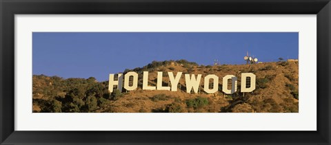 Framed Hollywood Sign Los Angeles CA Print