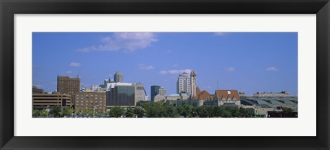 Framed Buildings in St Louis, Missouri Print