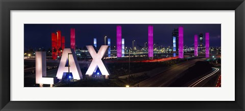 Framed Los Angeles Intl Airport Los Angeles CA Print