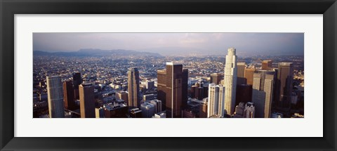 Framed Los Angeles, California, USA Print