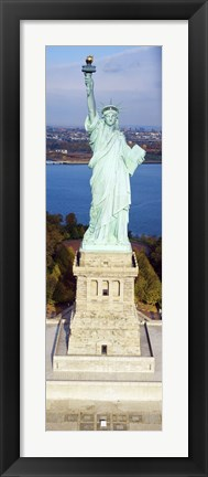 Framed Statue Of Liberty, New York, NYC, New York City, New York State, USA Print