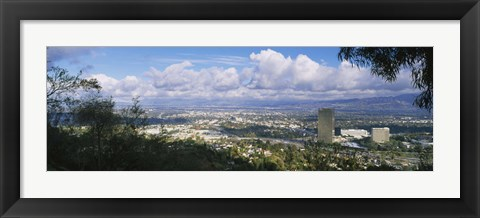 Framed Studio City, San Fernando Valley, Los Angeles, California Print
