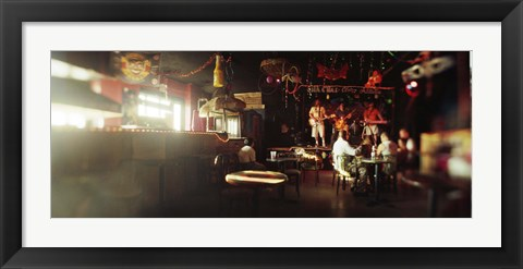Framed People in a restaurant, Cha Cha Lounge, Coney Island, Brooklyn, New York City, New York State, USA Print