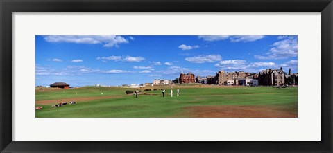 Framed Golf Course, St Andrews, Scotland, United Kingdom Print