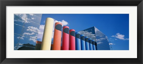 Framed Modern Architecture, Columbia, South Carolina, USA Print