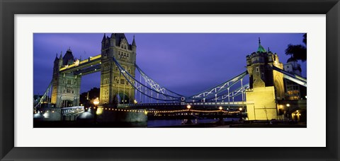 Framed Tower Bridge, London, United Kingdom Print