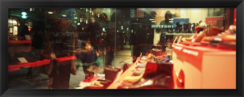 shoes displayed in a store window munich germany photograph by panoramic images at. Black Bedroom Furniture Sets. Home Design Ideas