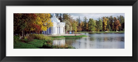 Framed Grotto, Catherine Park, Catherine Palace, Pushkin, St. Petersburg, Russia Print