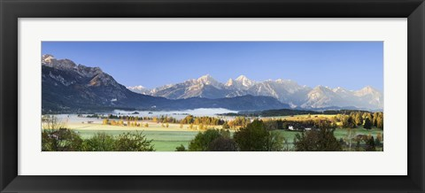 Framed King's Region and Allgau Alps, Bavaria, Germany Print