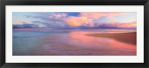 Framed Haena Beach Print