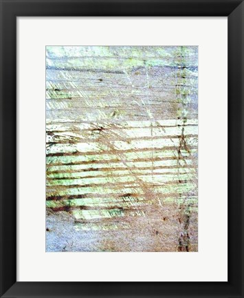 Framed Beach Reflections II Print
