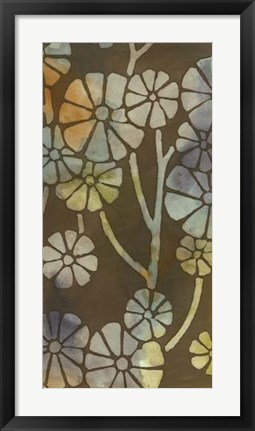 Framed May Floral II Print