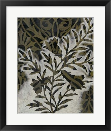 Framed Pattern Bloom II Print