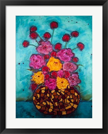 Framed Love & Roses Print