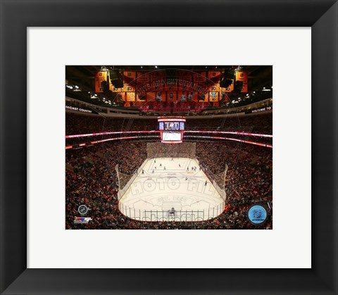 Framed Wells Fargo Center 2013 Print
