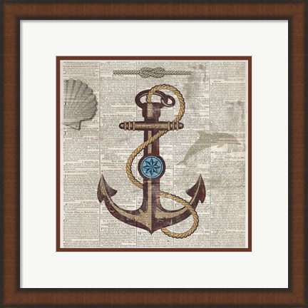 Framed Nautical Collection I - Mini Print