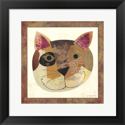 Framed Cat Print