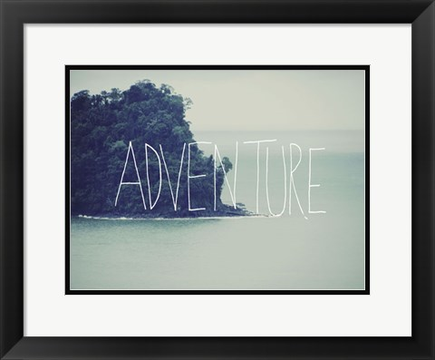Framed Adventure Island Print