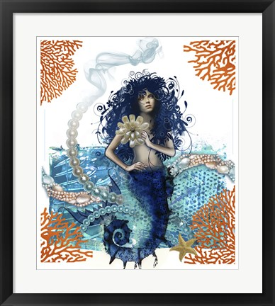 Framed Mermaid Print