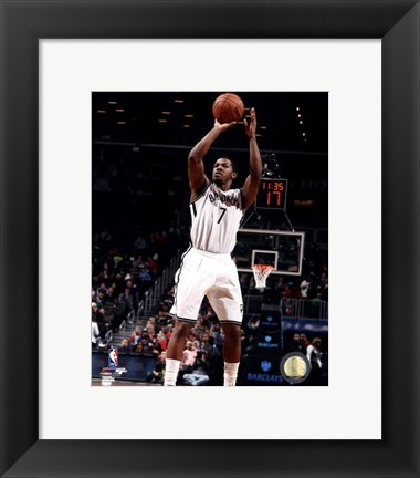 Framed Joe Johnson 2013-14 Action Print