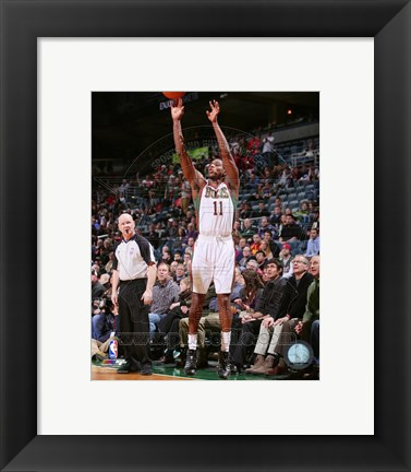 Framed Brandon Knight 2013-14 Action Print