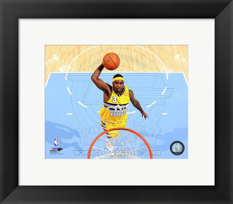 Framed Ty Lawson 2013-14 Action Print