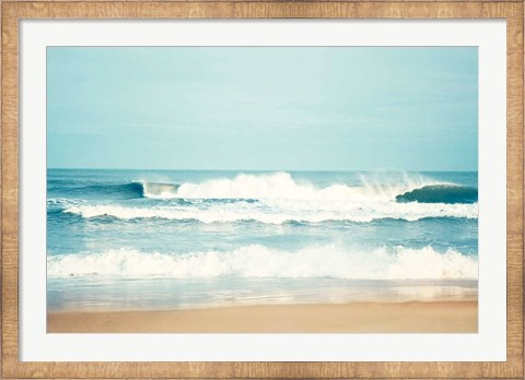 Framed Salty Sea Air Print