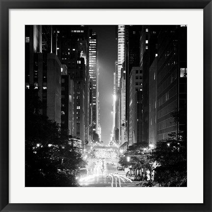 Framed 42nd Street Print