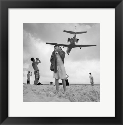 Framed Airplanes 24 Print