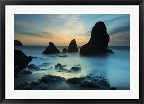 Framed Rodeo Beach I Print