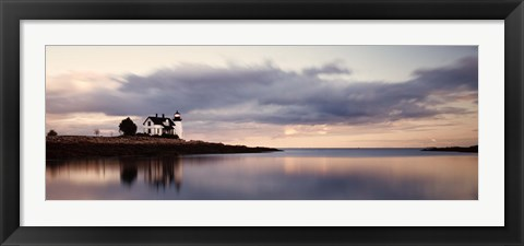 Framed Prospect Light Panoramica 2 Color Print