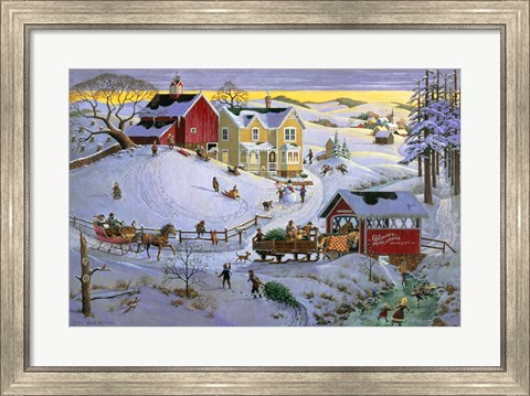 Framed Christmas Time Print