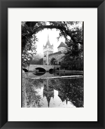 Framed Castle Reflections, Vajdahunyad Print