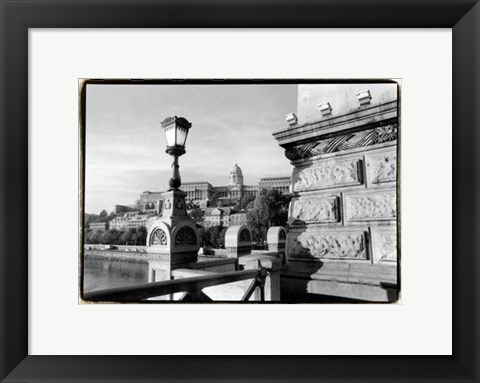 Framed View of the Royal Palace, Budapest Print