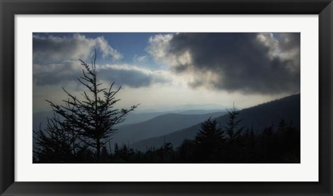 Framed High Country Silhouette II Print