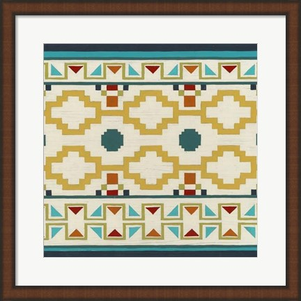Framed Southwest Geometry II Print
