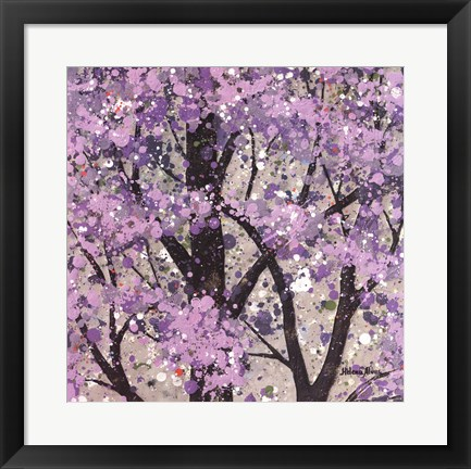 Framed Spring Song II Print