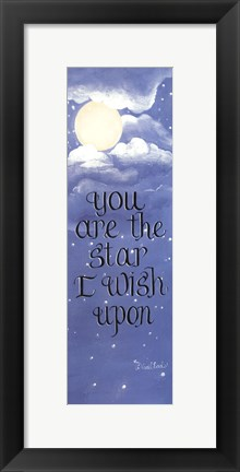 Framed Star I Wish Upon Print