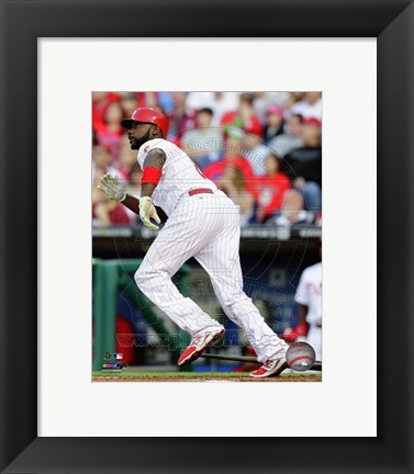 Framed Ryan Howard 2014 Action Print