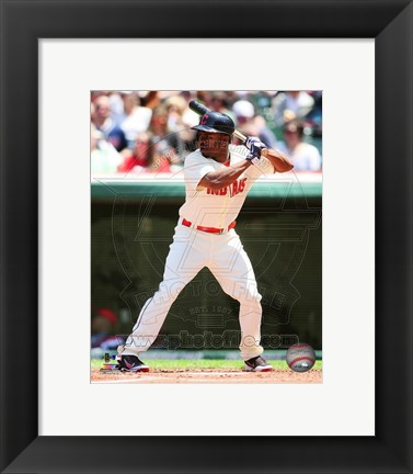 Framed Michael Bourn 2014 Print