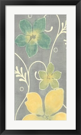 Framed Tropical Whimsy I Print
