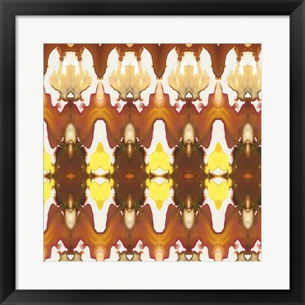 Framed Watercolor Quilt II Print