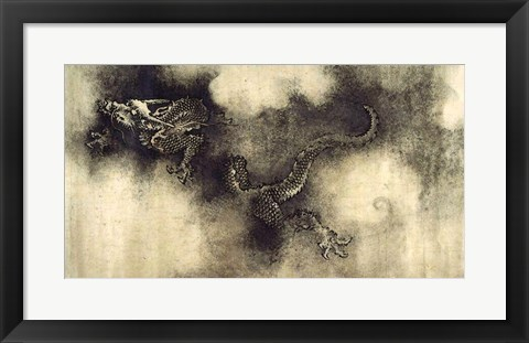 Framed Nine Dragons Print