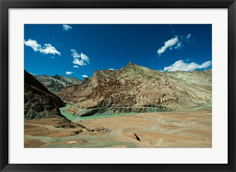 Framed Landscape, Markha Valley, Ladakh, India Print
