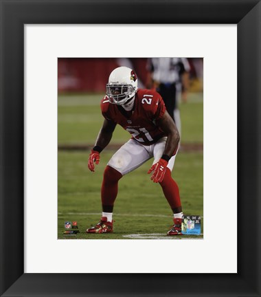 Framed Patrick Peterson 2014 Action Print