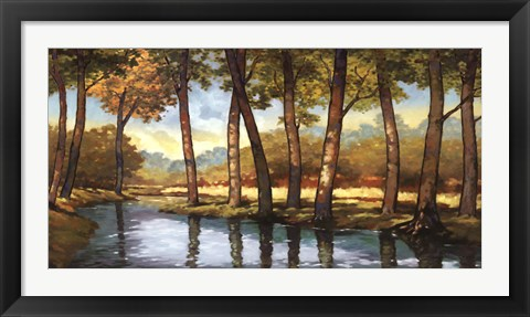 Framed Trout Stream 1 Print