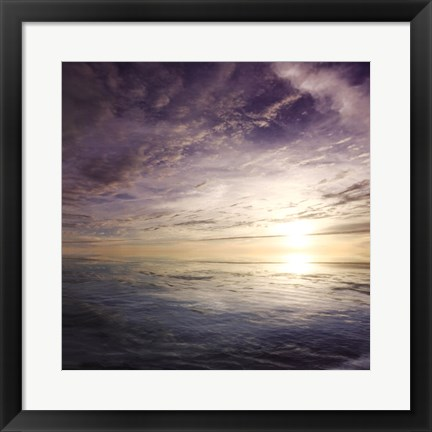 Framed Cloudscape Echoes IV Print