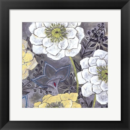Framed Central Park Bloom II Print
