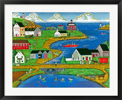Framed Cranberry Cove Print